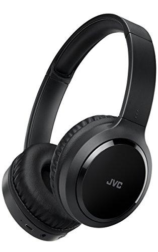 JVC HA-S80BN Wireless On-Ear Noise Cancelling Headphones - Black