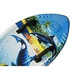 Beneyond Conseil de flottaison de l'eau de la Natation des Enfants de 41 Pouces/Planche de Surf Professionnelle en Forme de Poisson d'EPS