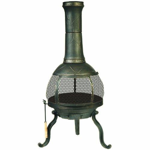 Deckmate Sonora Outdoor Chimenea Fireplace (Model 30199)