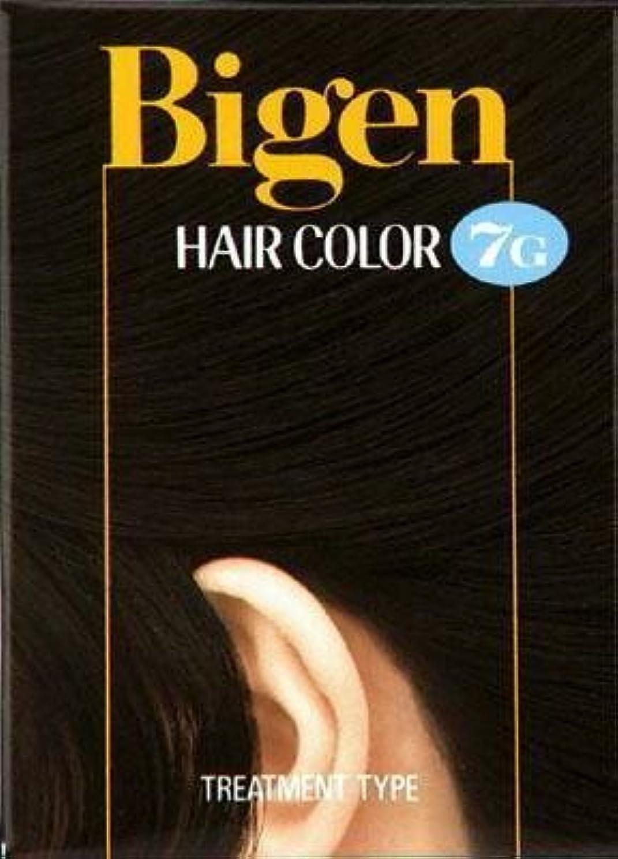 配管アルコール現れるビゲン ヘアカラー 7G 自然な黒褐色 × 5個セット