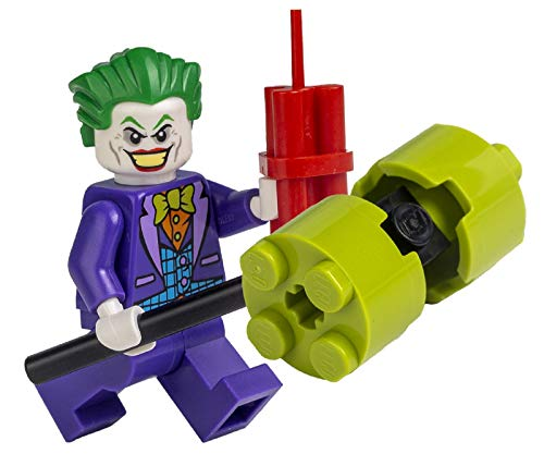 LEGO Superhéroes: Joker con martillo y dinamismo.
