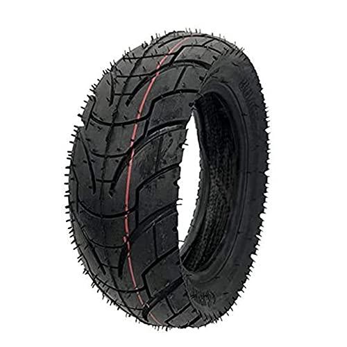 Djlazb Neumáticos de Goma de 10 Pulgadas 80/65-6 para patinetes eléctricos y Bicicletas eléctricas,Cámara de neumático de Carretera 10X3.0-6