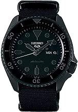 Seiko SRPD79 Seiko Sports 5 Men's Watch Black 42.5mm Stainless Steel