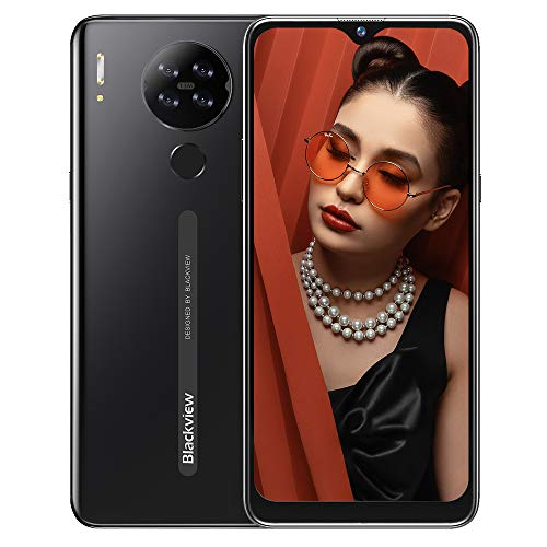 """Smartphone Offerta, Blackview A80S Cellulari Offerte, Android 10 Octa-Core 4GB+64GB, 6.21"""" 19:9 HD+ Schermo, 4200mAh, Fotocamera 13MP+ 5MP, Doppia SIM 4G/ GPS/Face ID"""