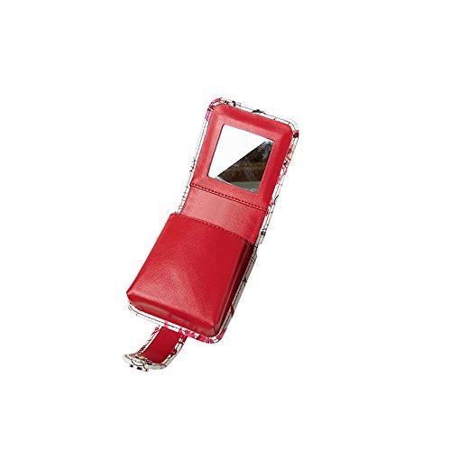 LXZXZ-Emballage Rouge à Lèvres Sac De Rangement Cosmétique Sac Portable Mini Trompette Lipstick Boîte Cosmétique Sac Lipstick Paquet
