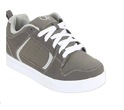 Ocean Pacific Men's Skate Sneaker OP (7.5 US (MEX-25.5 EUR-40)) Grey