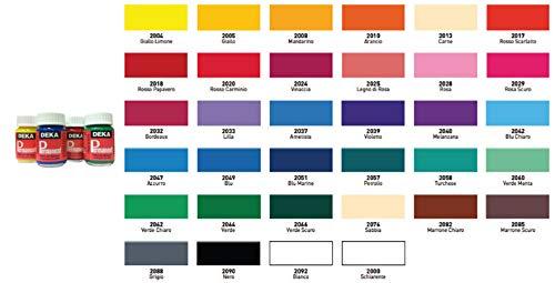Hammeley Deka Permanent Colori per Stoffe Chiare e Scure 25 ml (2062 Verde Chiaro)