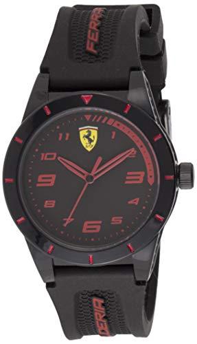 Ferrari Reloj Analógico para Hombre de Cuarzo con Correa en Silicone 840027