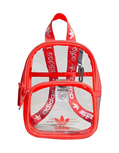 adidas Originals Originals Clear Mini Backpack Scarlet One Size