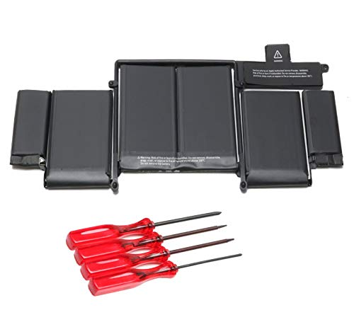 K KYUER A1582 Laptop Batteria per MacBook Pro 13' Retina A1502 Late 2013 Mid 2014 Early 2015 A1493 EMC 2835 MGX72LL/A MF839LL/A MF840LL/A MF840TA/A MF841LL/A MF843LL/A ME864LL/A ME865LL/A ME866LL/A