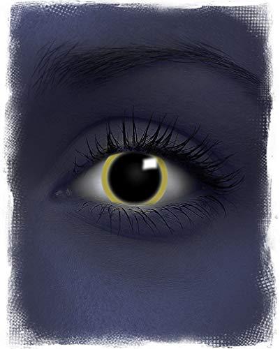 Horror-Shop UV Motiv-Kontaktlinsen Eclipse
