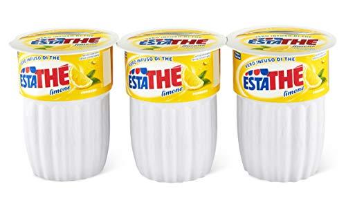 Estathé, Vero infuso di The al Limone, confezione da 3 bicchieri x 200 ml