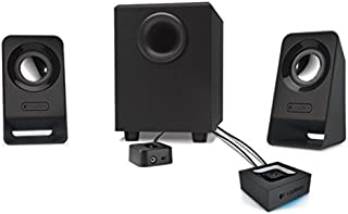 Logitech Outdoor/Surround Multimedia 2.1 Z213 for PC and Mobile Devices Home Speaker Set of 1 Black (980-000941)