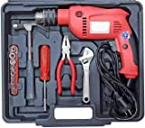 Device Powerful Drill Machine with Drill Tool Set 350W - 2800 RPM - 13 mm Power & Hand Tool Kit (20 Tools)