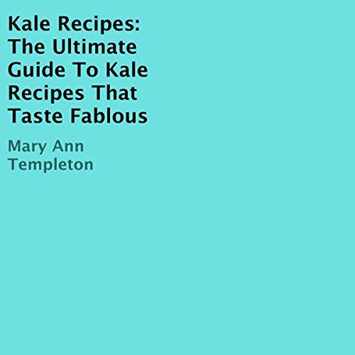 Kale Recipes audiobook cover art