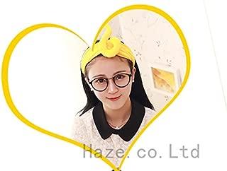 NPLE--Womens Girls Teletubbies Headband Costume Fancy Dress Party Hair Accs Hairband (Yellow)