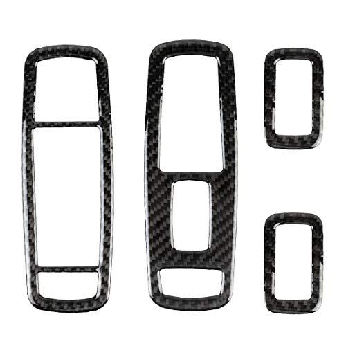 Decoratieve ABS-carbonvezel-schermen voor autoramen, hoogwaardig, voor Jeep Grand