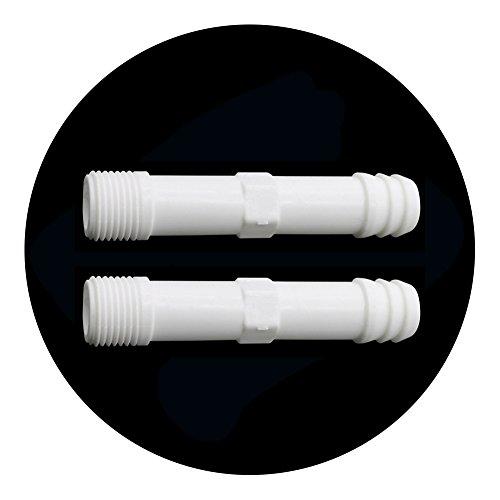 adhere to Fly 10 morceaux plastique filetage extérieur PVC Raccord de tuyau d'arrosage Robinetterie Jardin Accessoires 1/2'' Gewinde