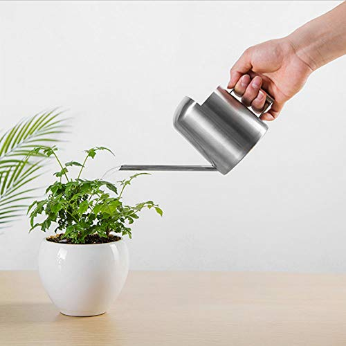 Watering Cans, Water Sprayer Bottle 300ML Stainless Steel Long Spout Watering Can Pot for Household Green Plant Bonsai Irrigation Tool