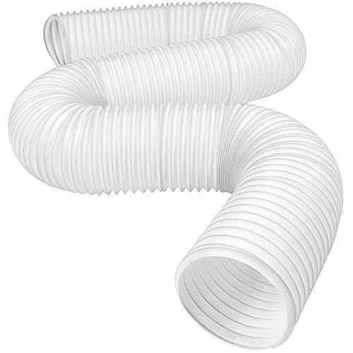 PIPIAI Tubo di Scarico per condizionatore Portatile,Condotto di Scarico dell'Aria condizionata Resistente al Calore, Condotto d'Aria Universale Diametro 13/15cm 1,5/2m di Lunghezza