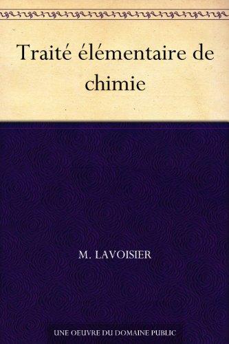 Couverture du livre Traité élémentaire de chimie