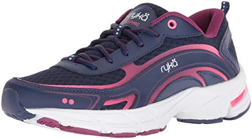 Ryka Women's Inspire Walking Shoe, Blue, 10 W US
