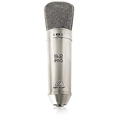 Behringer B-2 PRO Dual Diaphragm Studio Condenser Microphone