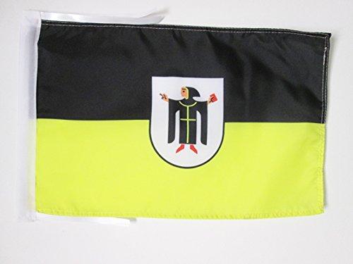 AZ FLAG Flagge MÜNCHEN 45x30cm mit Kordel - MÜNCHEN Fahne 30 x 45 cm - flaggen Top Qualität