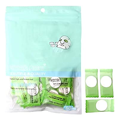 ZHIYE Compressed Mask Paper, DIY Skin Care Disposable Natural Silk Sheet Facial Mask for Skin Lotion 60 Pcs from Zhiye