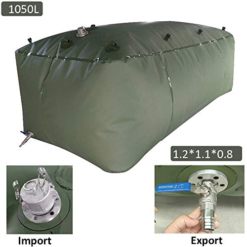 Water tank Gasoline Container Bag Portable Oil Drum Fuel Canister Petrol Tank, PVC Collapsible Container Water Bladder, Customizable
