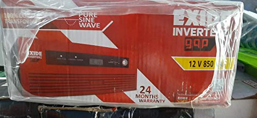 Exide Technologies 850Va Pure Sinewave Home Ups Inverter - Digital Display