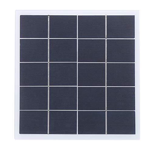 Liyong Componente per Pannelli Laminati, Pannello Solare Pannello Solare in policristallo Facile da Usare Accessorio Fai da Te per Piccoli sistemi di Illuminazione Domestica per l'illuminazione