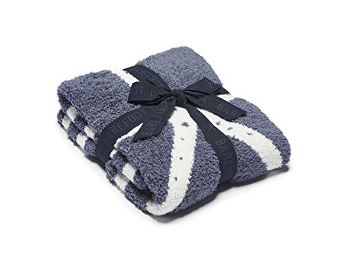 Barefoot Dreams CozyChic Starfish Blanket, Deep Sea...