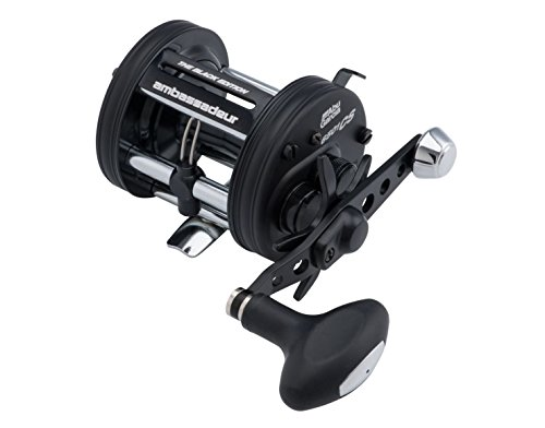 Abu Garcia Ambassadeur Pro Rocket BE Baitcast Reel with 6500 5.3:1 Gear Ratio 5 Bearings 26' Retrieve Rate