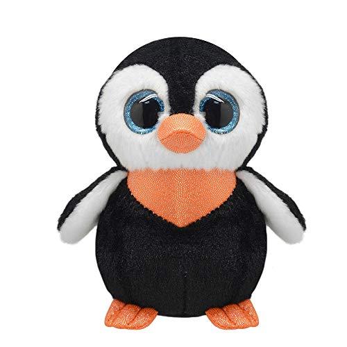 Wild Planet 27 cm orbys Pingouin Jouet en Peluche (Multicolore)