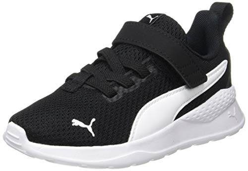 PUMA Unisex Kinder Anzarun Lite Ac Ps Sneaker, Schwarz Black White, 34 EU