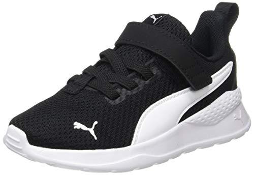 PUMA Unisex Baby Anzarun Lite Ac Ps Sneaker, Schwarz Black White, 35 EU