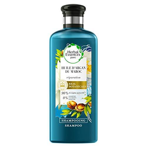 Herbal Essences Pure - Champú Reparador con Aceite de Argán, 250 ml