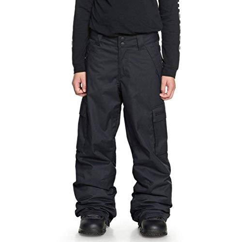 DC Apparel Jungen Banshee Youth Pant Snow, Black, 10/M