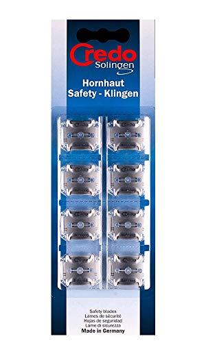 Credo Safety-Klingen für Hornhauthobel, 8 St (1er Pack)