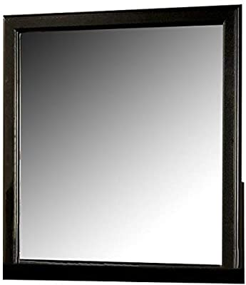 ACME Louis Philippe III Mirror - 19504 - Black