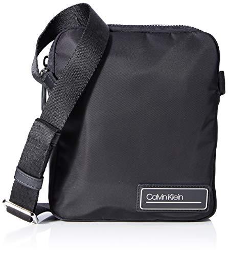 Calvin Klein PRIMARY MINI REPORTERHombreShoppers y bolsos de hombroNegro (Black) 5x22x19 centimeters (B x H x T)