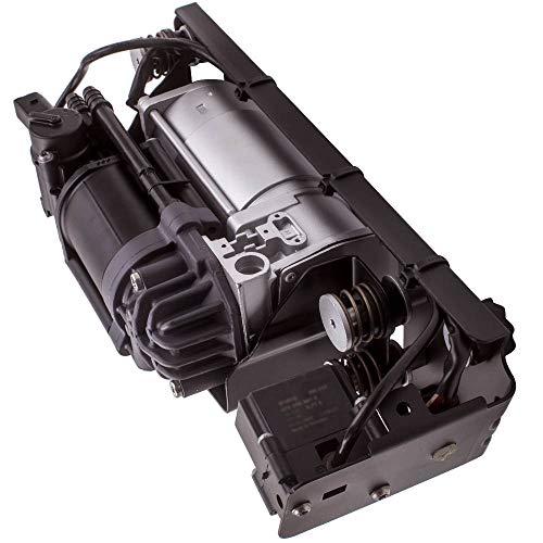maXpeedingrods Air Suspension Compressor Pump & Bracket & Valve Block for BMW 535i 550i GT 740i 740Li 750i 750Li 760Li Alpina B7 F01 F02 F03 F07 F11 2010-2015