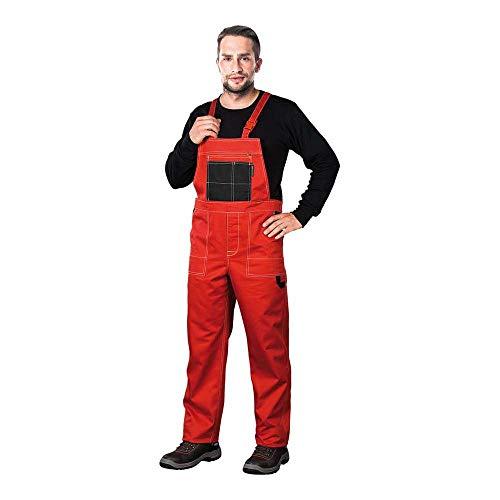 Reis MMSCB_50 Multi Master Schutzlatzhose, Rot-Schwar, 50 Größe
