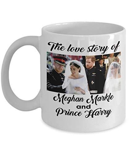 NA Boda Real del Príncipe Harry y Meghan Markle - Taza de...