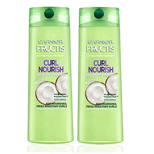 Garnier Hair Care Fructis Triple Nutrition Curl Nourish Shampoo (Packaging May Vary), 12.5 Fluid, 2 Count