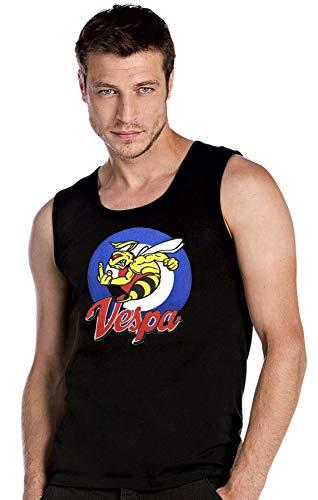 mmshop18 Vespa Scooter Fun Camisetas de Tirantes T-Shirt Top Tank - 2903 -SW