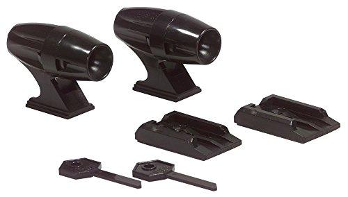 HR 887 Ultraschall Wildwarngerät, Wildwarner mit Schlüssel, selbstklebend, Ihr zuverlässiger Schutz und Vorsorge vor Wildschäden