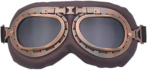 Gafas de moto, gafas de bicicleta, gafas de juego, gafas fuera de la carretera, gafas de motocicleta gafas de gafas con estuche empacado montando cascos vasos anti-arañazos a prueba de polvo crucero s