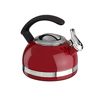 KitchenAid 2.0-Quart Kettle with C Handle and Trim Band - Empire Red